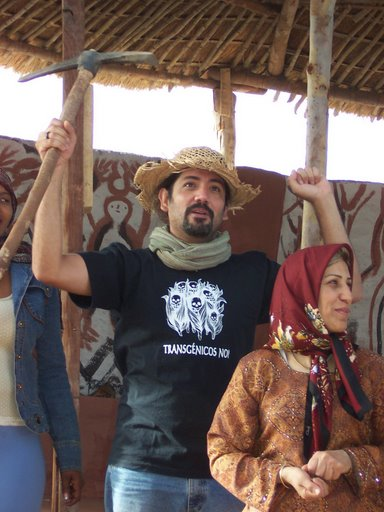 Photo from Nyéléni 2007 Forum for Food Sovereignty (by Christina Schiavoni)