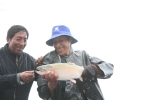 Trout fishing on Lake Titicaca Bolivia