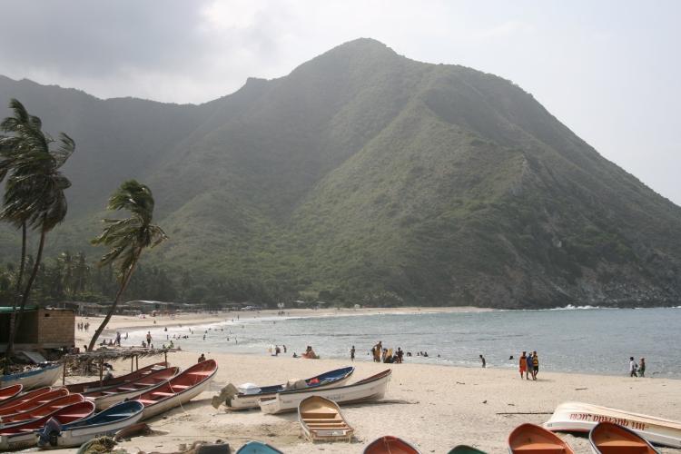 The beaches of Chuao