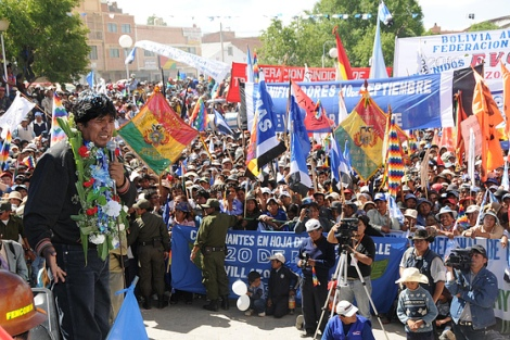"Call to action – ""World People's Conference on Climate Change and Defence of Life"", Tiquipaya, Bolivia"