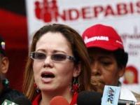 Indepabis president Consuelo Cerrada