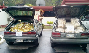 Food Smuggling to Colombia