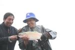 Trout fishing on Lake Titicaca Bolivia