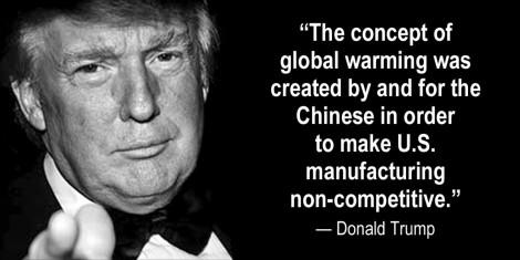 Trump and ClimateCatastrophe