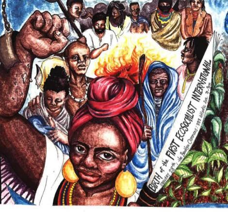 Birth of the First EcosocialistInternational